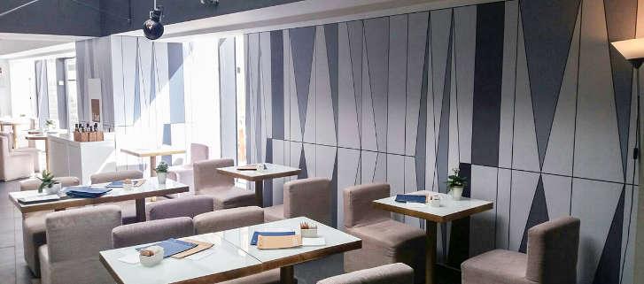 rivestimento murale ristorazione