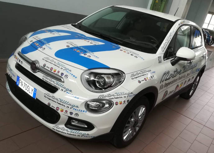 car wrapping fiat 500 palermo