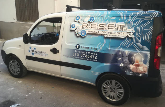 car wrapping veicolo commerciale