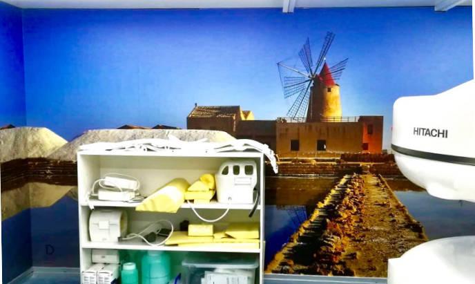 pellicola murale grafica personalizzata