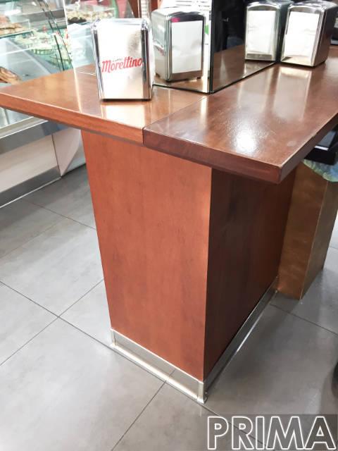 tavolino prima del restyling commerciale