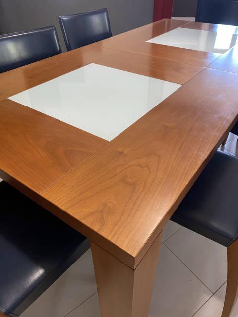 rivestimento tavolo legno