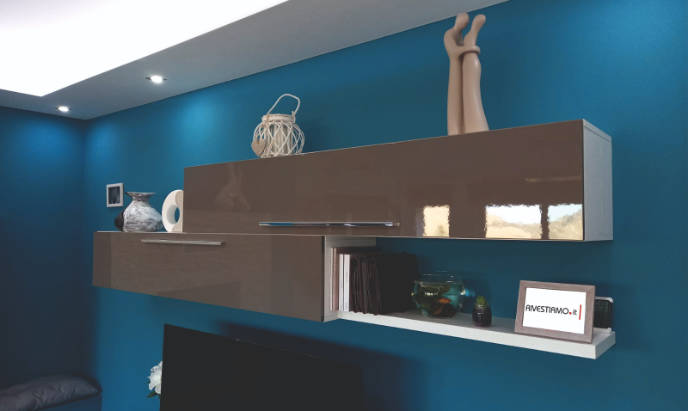rivestimento parete attrezzata