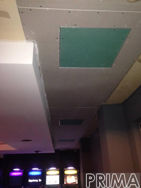 prima del rivestimento soffitto a palermo