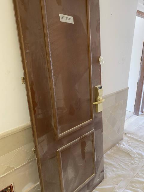porta prima del rivestimento