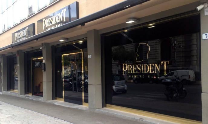 vetrofanie agenzia president Palermo